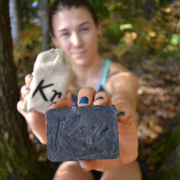 Kohleseife Ana - zufriedene Kundin