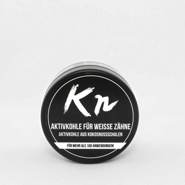 Aktivkohle zur Aufhellung und Reinigung der Zähne von Karbonoir