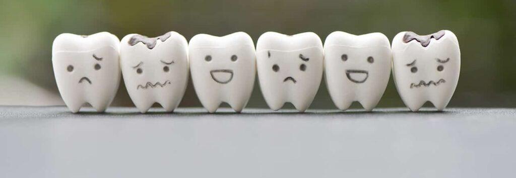 Zaahnpflege - Zähne