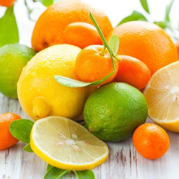 Lebensmittel Neurodermitis - Zitrusfrüchte