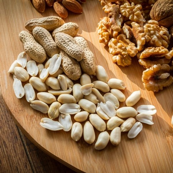 Neurodermitis Lebensmittel - Nüsse